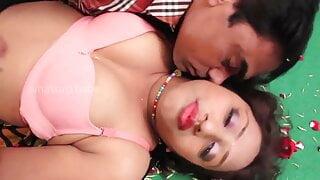 desi Telugu girl Soni Priya has romance with boyfriend