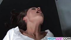 Schholgirl Erin Stone is horny as fuck