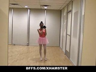 Naked ballerinas video Bffs - cute petite ballerina fucked by her friends