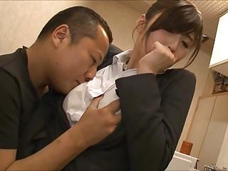 Japanese girls being licked Hesitant office lady being lick
