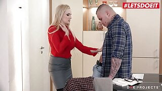 LETSDOEIT – Sexy MILF Angel Wicky Gets Cock From Good Student