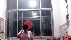 Chinese Granny Exhibitionist For All To See