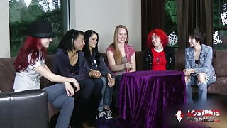 Strip Estonian Roulette with a Group of Wild College Girls