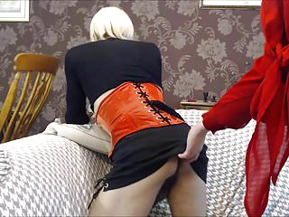 Gay muscle and transformation Bbw mistress transforms and fucks cd slave