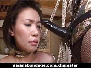 Asian mistress tgp - Rough asian mistress plows her sweet slave girl