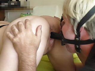 Asian forum visible sitting bulge - Face sitting slave fucking me in face mask dildo