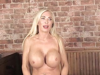 Quickie v breast implants Huge massive breasts v small fried egg tits