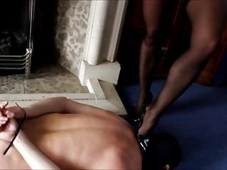 Humiliation phone sex uk Phone call under her shoe. preview.