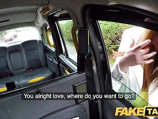 Horny redhead fucks in the dirt Fake taxi horny redhead hottie in filthy taxi suck and fuck