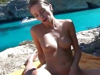 Island girls sex clips - Germans having summer outdoor sex on secluded greek island