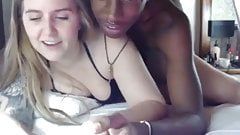 Teen white girl fucked by a black boy with massive cock