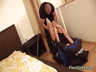 Men fucking real doll Real flexi doll rough anal fucked