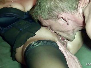 Jenny heart porn and fan - German saggy tits milf jenny at fan date with sperm on pussy