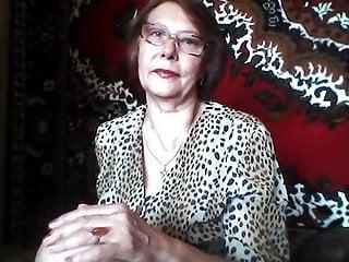 Granny amateur russian Tatiana, 68 yo russian sexy granny amateur
