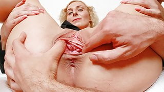 Kaylea Tocnell's pussy gaping, fingering and banging