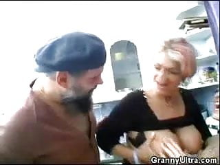 Granny cock sucking movies - A hot mature cock sucking session