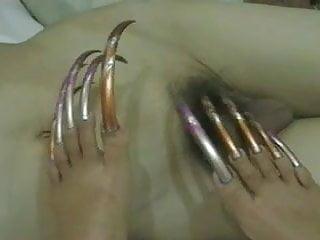 Erotic sedxy long toenails - Long toenails