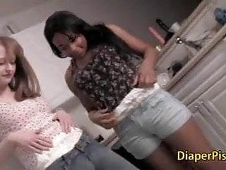 Teens pooping in diaper pics - Lesbian girls in diaper kissing
