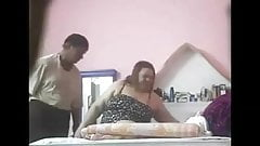Egyptian mom cheating, hidden cam
