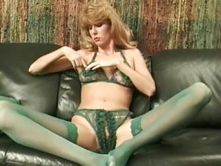 End tables green vintage finish - Green classic green crotchless panties