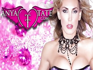 Blue lingerie wifey Tanya tate orgasm with vibrator in blue lingerie