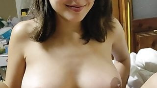 LaMenor gets deepthroat fucked with cumshot in her precious mouth