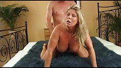 Busty Curvy Milf With Blonde Bush by KR