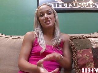 Ebony women taking white cock - Cute blonde takes biggest white cock