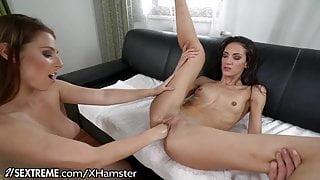 21Sextreme Fist Fucking Euro Lesbians Lick it Up