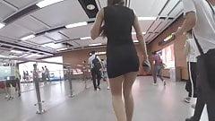 Czarna sukienka Rosjanka