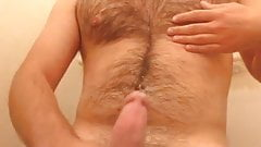Cumshot after being horny for a while