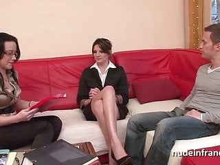 Needle pain tits - Ffm sexy petite french slut painful anal sex for her casting