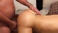 Bubbly butt fucked hard