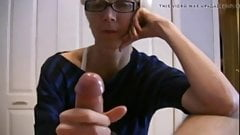 Onani - wife jerks husband cock