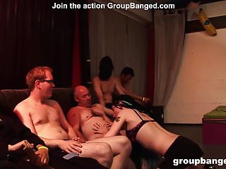 Video of sex with a prostitute Groupbanged.com rasta prostitute groupbanged and facialized