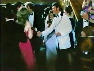 Dinner party swingers - Vintage dinner party orgy