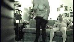 Curvy Big Tit Lady Gets A Big Mouthfull Of Hot Cum: Spy Cam