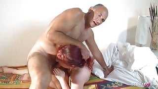 Italian Fuck With Red Haired Woman