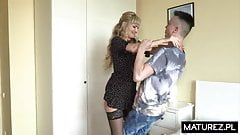 Polish MILF - Monika - Next door mom