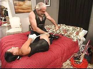 Young exotic sluts - Stunning young exotic tattooed asian girl is restrained for the first time