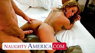 Naughty America - Jayden Lee fucks her sugar daddy