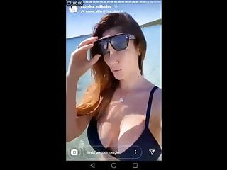 Celebrity oops nude Caterina milicchio. oops big boobs in instagram