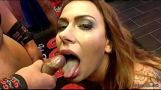 Ani Black Fox gives reverse cowgirl and gets cum