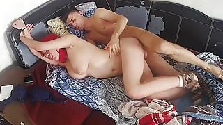 Busty Pierced Nipples Fire Head Chick Wants Hard Fuck