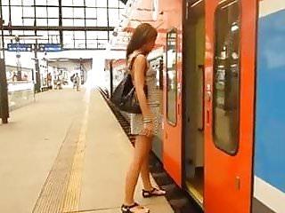 Porn train girls - Littlekissmuffin: girl on a train porn stylee