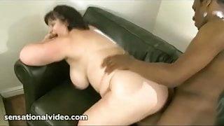 Wife Makes Hubby Watch as She Fucks Big Black Cock