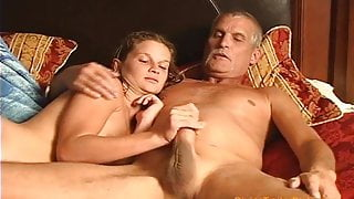 Daddy eats Step Daughters CREAM PIE