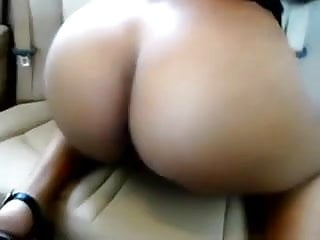 Spunk shack Shacking ass in car