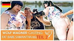Samantha Kiss gets a cum in her mouth! wolfwagner.casting
