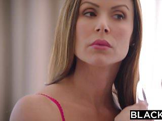 Trophy wife slut Blacked hot trophy wife fucks bbc in husbands bed
